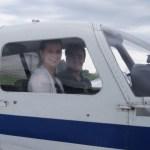 Der Traum selbst ein Flugzeug zu fliegen