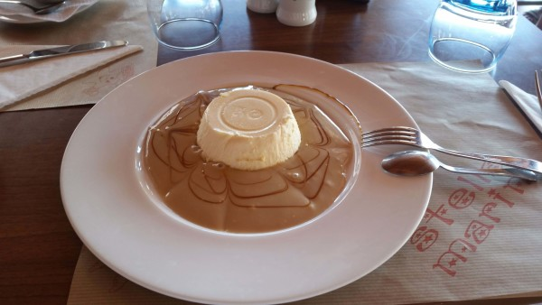 Cheesecake mit Toffee Restaurante La Terazza in Los Gigantes