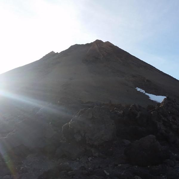 Spitze des Pico del Teide auf Teneriffa