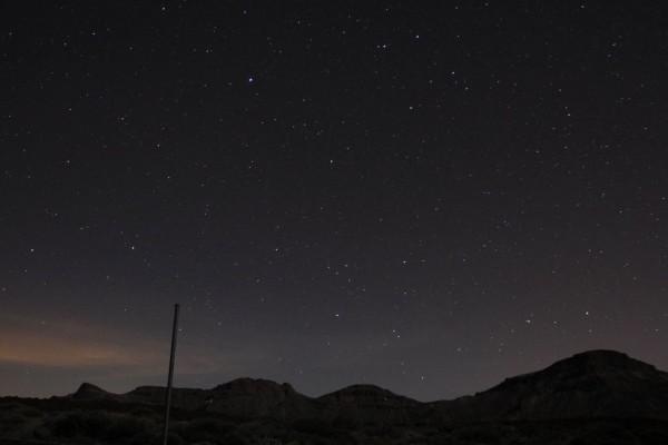 ©Matthias Kranich: Sternenhimmel über Teneriffa