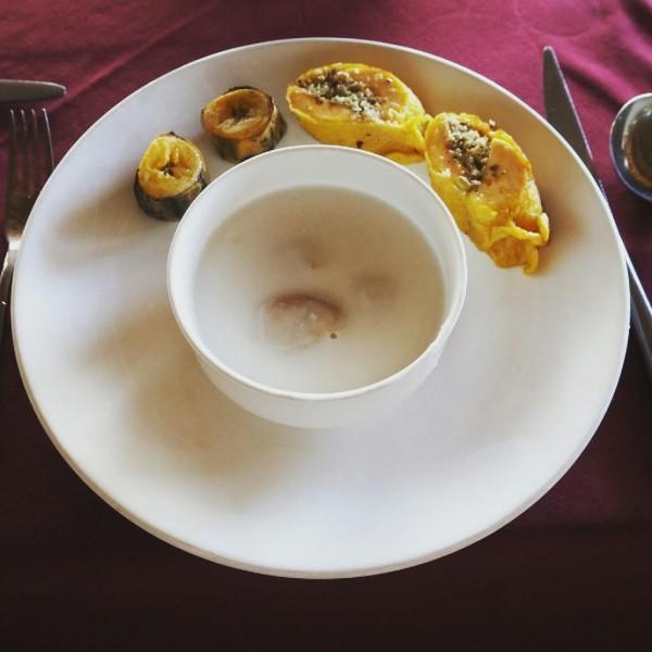Ayurvedakur in Kerala - Ich liebe Banana Stew und habe es fast täglich gegessen.