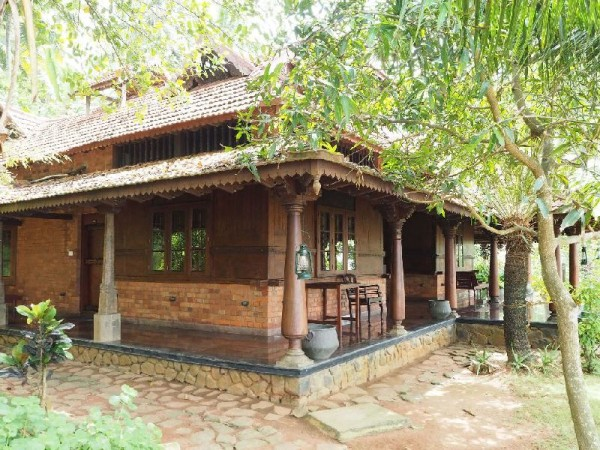 Ayurvedakur in Kerala - Meine bescheidene Unterkunft für die nächsten 11 Tage.