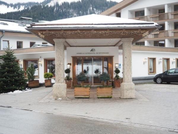 Araballa Alpenhotel am Spitzingsee Eingang