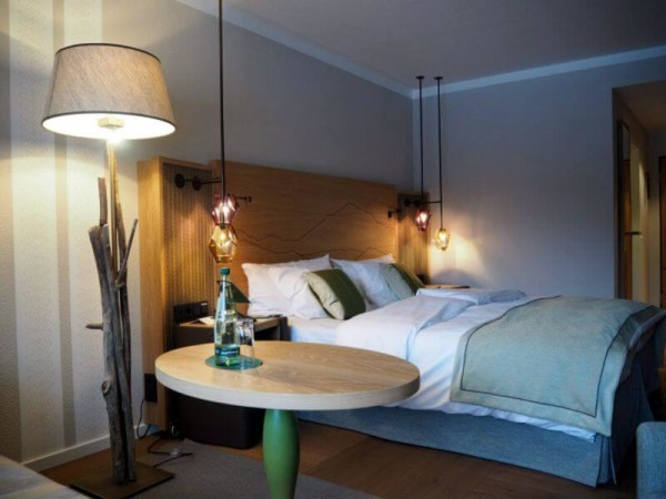 DZ Seeseite Araballe Alpenhotel am Spitzingsee Bett