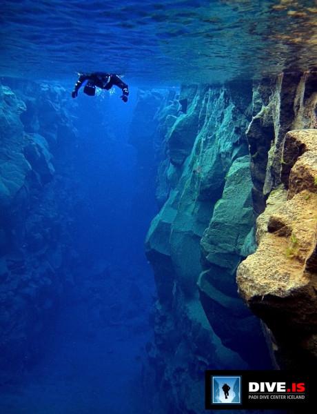 Island Silfra-Spalte