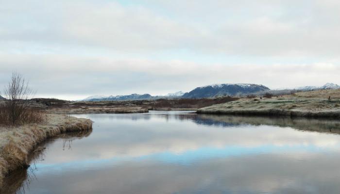 Island Silfra-Spalte Pingvellir Nationalpark Golden Circle