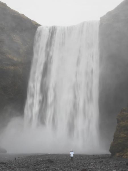 Island Wasserfall Skógarfoss