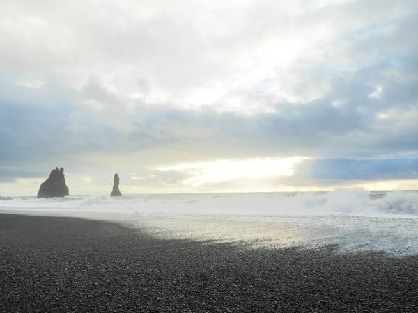 Island Vik Black Sand Beach