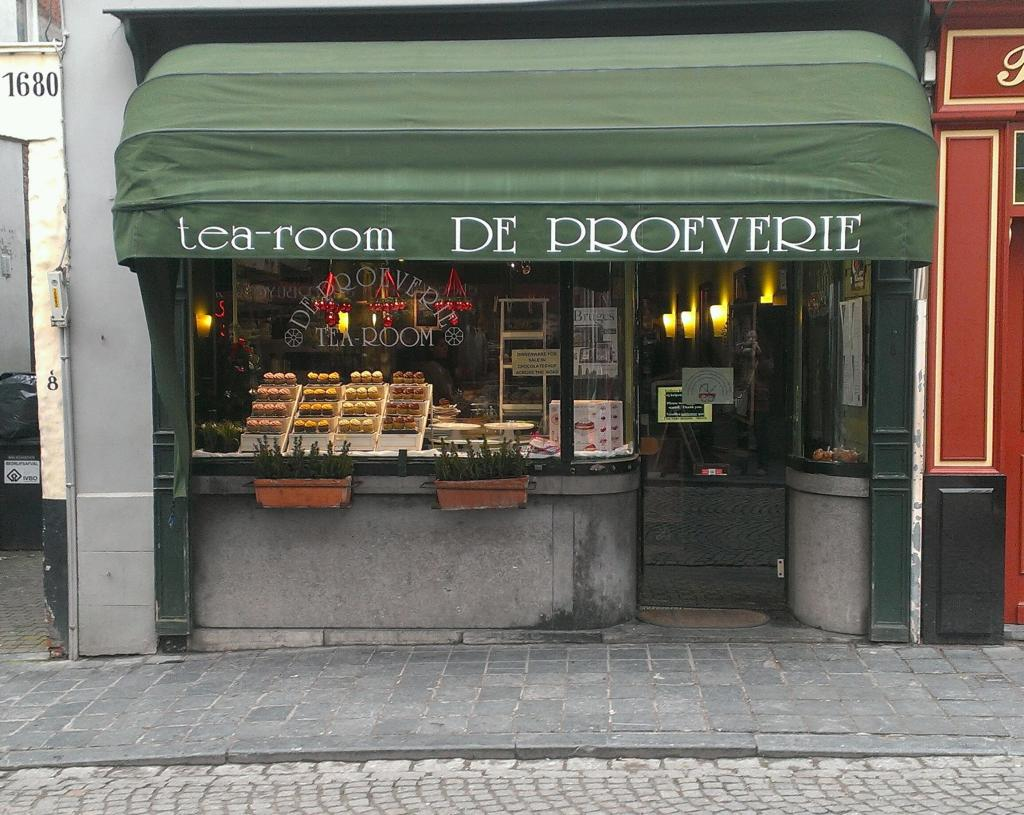 Café de Proeverie in Brügge