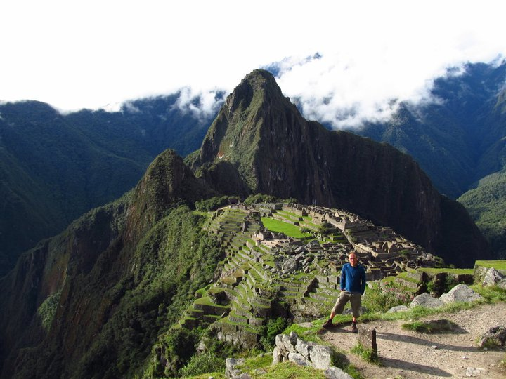Roland in Machu Picchu