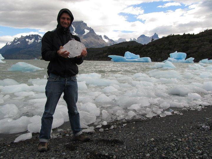 Roland in Patagonien
