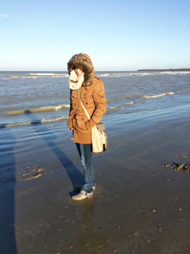 Zeebrügge am Meer