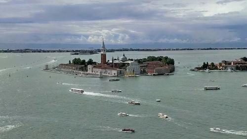 Aussicht auf Venedig