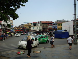 Hanoi Straßenverkehr
