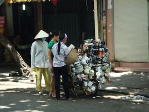 Straßenverkauf Hanoi