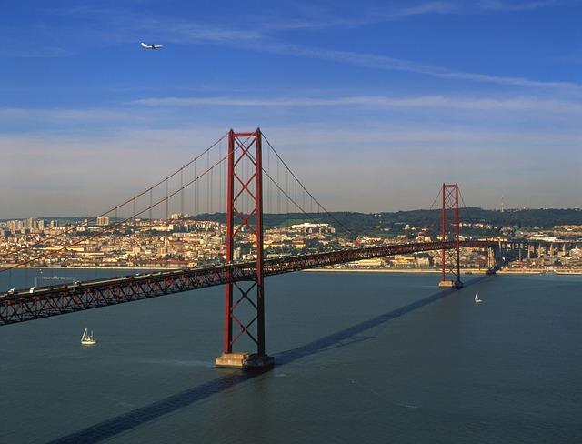 Lissabon Hängebrücke