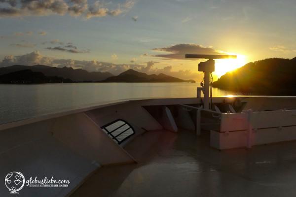 Ein Sonnenaufgang in den Fjorden Norwegens: Einer der seltenen Momente, die für immer in Erinnerung bleiben.