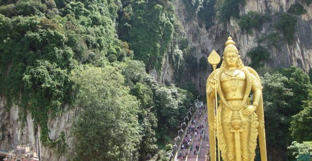 Batu Caves in KL