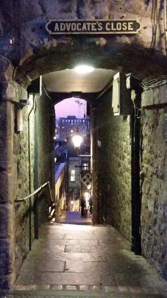Advocates Close in Edinburgh