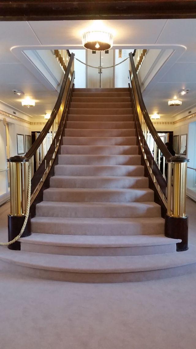 Treppe der Britannia