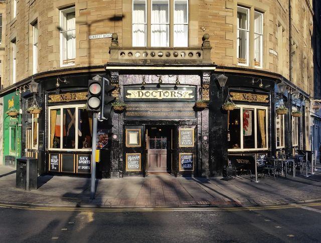 Doctors Pub in Edinburgh