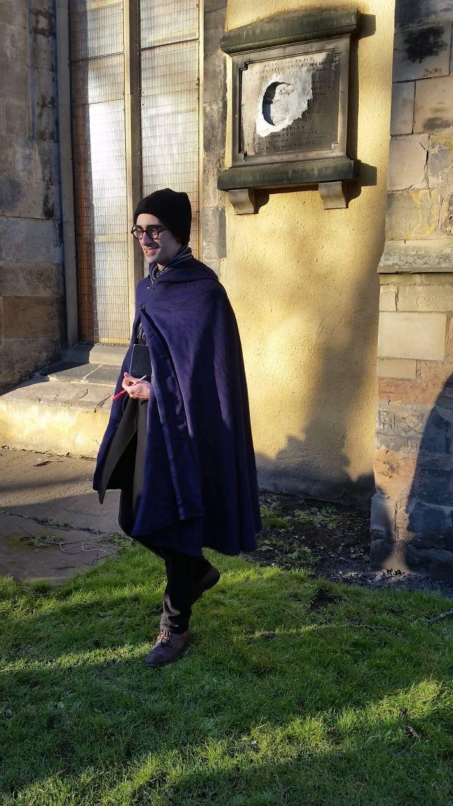 Unser Guide auf dem Harry Potter Trail