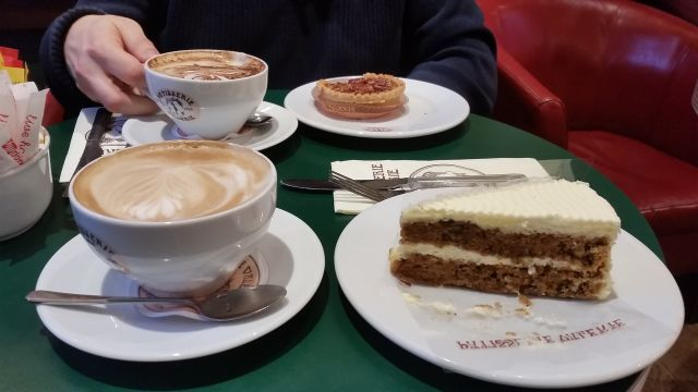 Patisserie Valerie in Edinburgh