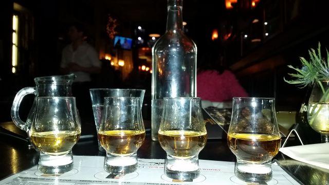 Wisky Tasting im Whiski Rooms in Edinburgh
