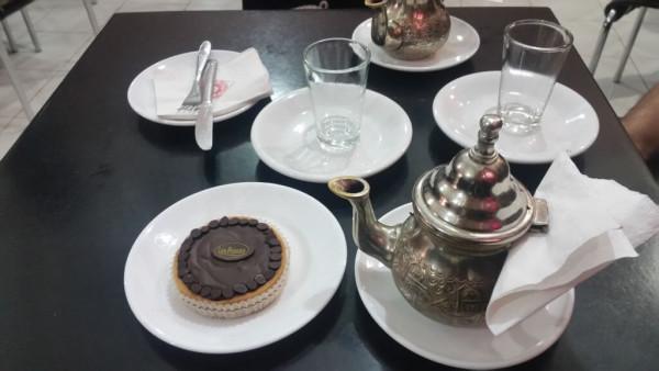 Tarte au Chocolate in der Patisserie des Princes