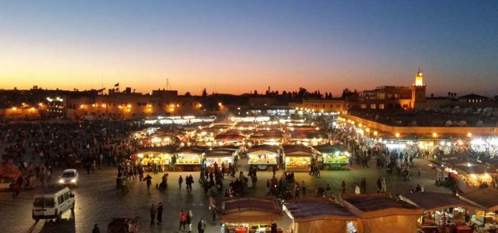 Marokko_Marrakesch_Djeema el Fna