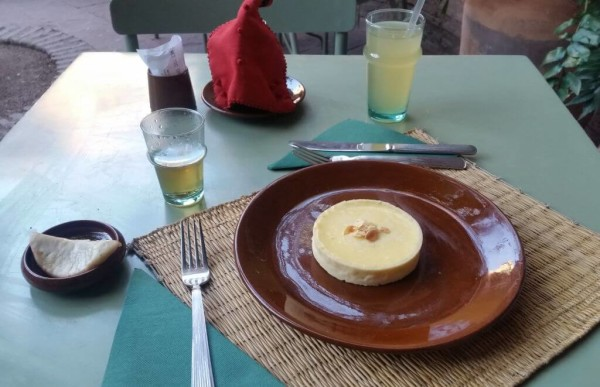 Tarte au Limon im Jardin Majorelle