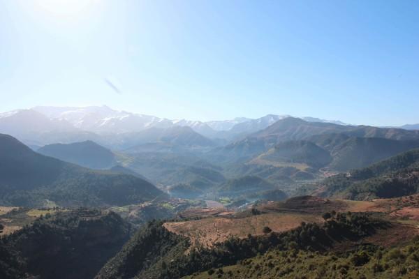 Tizi n`Tichka Pass im Atlas Gebirge