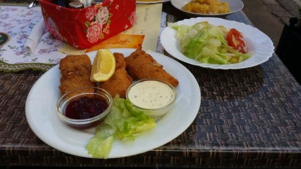 Lecker Essen im Gasthaus Kopp Wien