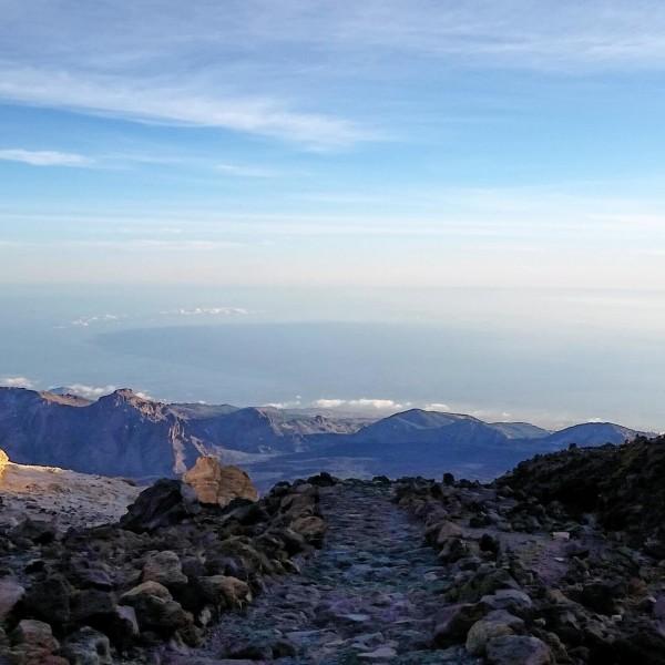 Wanderweg auf dem Pico del Teide