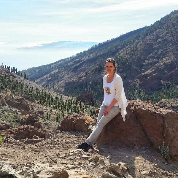 Ich im Pico del Teide Nationalpark