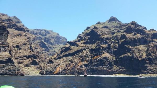 Masca Bucht auf Teneriffa