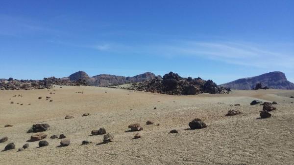 Wüstenlandschaft im Pico del Teide Nationalpark