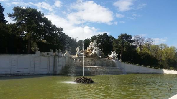 Springbrunnen im Schloss Schönbrunn