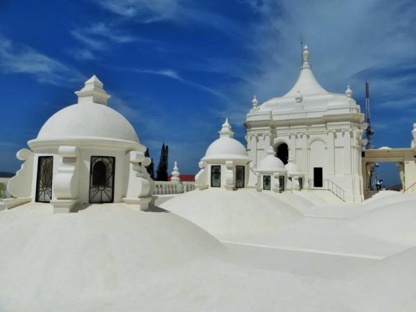 Die Kathedrale von Leon in Nicaragua