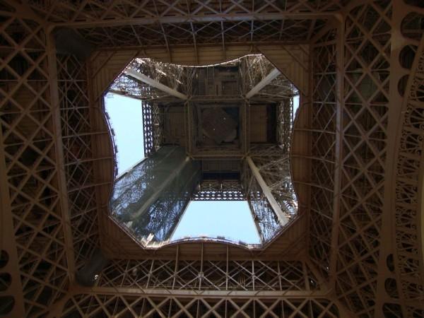 Eiffelturm innen