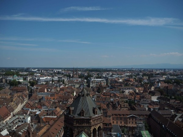 Ausblick vom Straßburger Münster