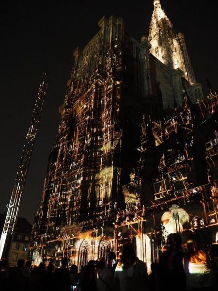 Illumination Straßburger Münster