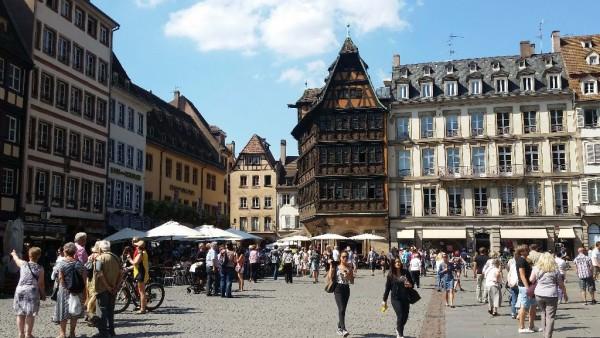 Straßburg Impressionen rund um den Straßburger Münster_1
