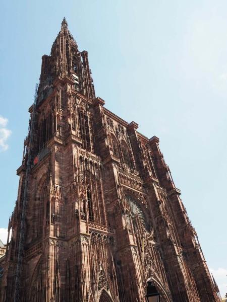 Straßburger Münster Totale