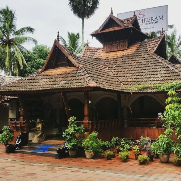 Das Somatheeram Ayurvedic Health Resort in Kerala.