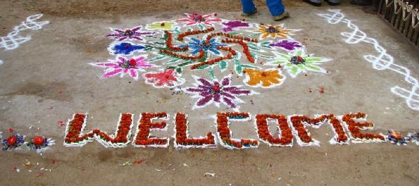 Visum für Indien - Welcome India