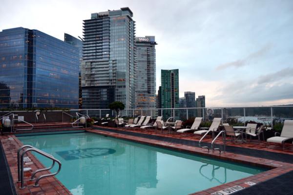 Die luxuriösen Hotels gehören zu den schönsten Seiten des Jobs.