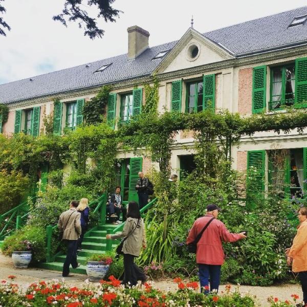 Das Haus von Claude Monet. Nicht schlecht oder ;)?