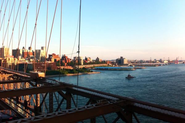New York - ihre große Liebe. Hier würde sie gerne mal länger leben.