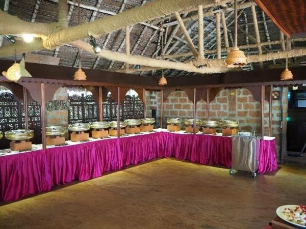 Das Restaurant im Somatheeram Ayurvedic Health Resort